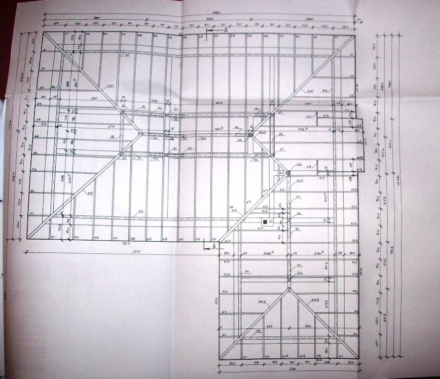 W Ultra Wykonanie więźby dachowej i pokrycie dachu blachodachówką Ruukki IA68