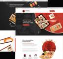Strona dla baru sushi