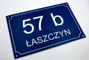 Tabliczka adresowa - adres na dom Grawer Laserem