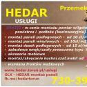 """PROFESJONALNIE - Przedsiębiorstwo Handlowo Usługowe """"HEDAR"""" Toruń i okolice"""