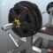 Wizualizacje 3D pełnych setów - ławka, weight plates, gryf i zaczep na weight plates.