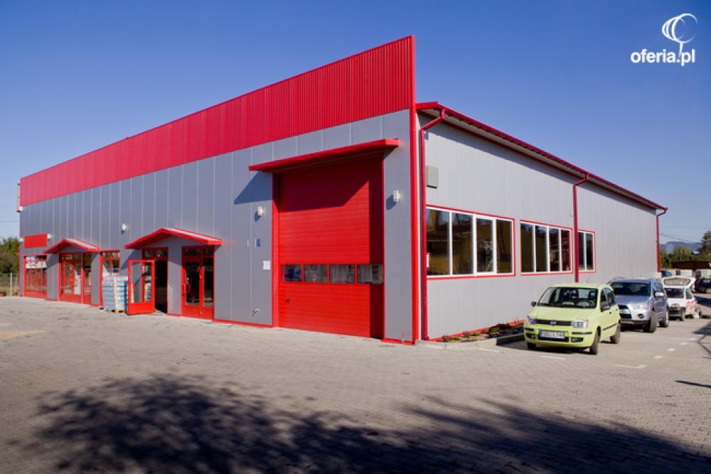 Nietypowy Okaz Stacje kontroli pojazdów, hale stalowe, budynki z płyty warstwowej TN65