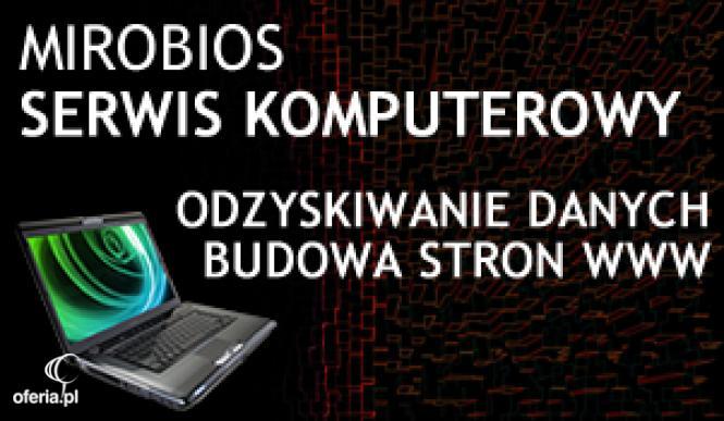 Szybko I Bez Poprawek Mirobios Serwis Komputerowy Kraków I