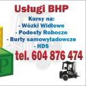 BHP, Ochrona Środowiska, - BeHaPe Ośrodek Szkolenia Kierowców Kadr Paweł Strycharski Sochaczew i okolice
