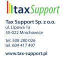 Wspieramy Twój biznes - Tax Support Sp. z o.o. Mnichowice i okolice