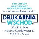 Jakość w rozsądnej cenie - Drukarnia Wschód Lublin Lublin i okolice