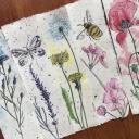 Zakładki ręcznie malowane