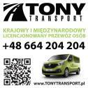 Przewóz osób Złotów - TonyTransport Zakrzewo i okolice
